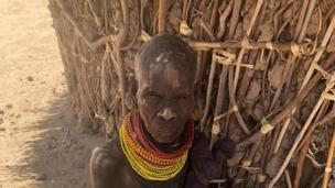 Huyu ni Mama Lakunyiko Emankor mwenye umri wa miaka 60 ni mkaazi wa kijiji cha Lotukumo.