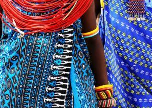 Ropa de colores en Kenia.