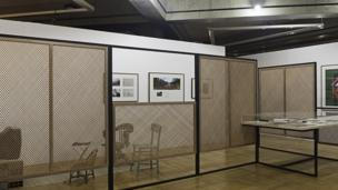 Beto Shwafaty, Installation views of 'Remediations' Paço das Artes, São Paulo, 2014