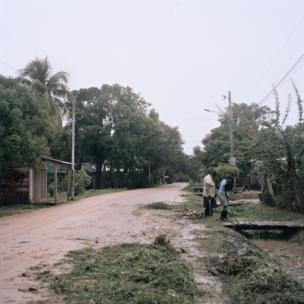 Elton Wilson Heberth at work in Bilwi, Nicaragua