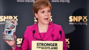 Thủ hiến Scotland, bà Nicola Sturgeon muốn trưng cầu dân ý để Scotland chọn ở lại hay rời Anh Quốc