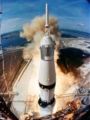 Lanzamiento de la misión Apolo 11