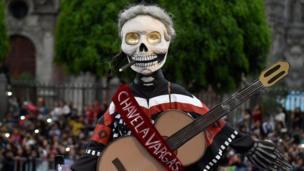 روز جشن مردگان در مکزیک