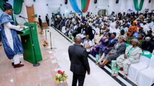 Aarẹ Buhari ṣe ipade pẹlu awọn alẹnulọrọ nipinlẹ Plateau