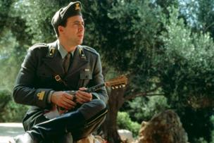 Film still of Nicolas Cage in Captain Corelli's Mandolin, 2001