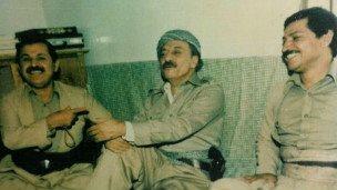 عبدالرحمن قاسملو و جلال طالبانی