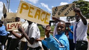 مسيرة للتوعية بحقوق الصم