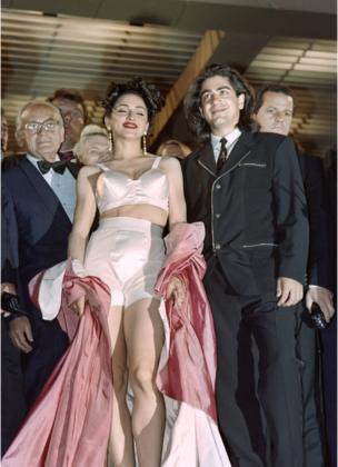 Madonna in a two-piece