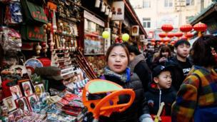 Beijing, Cina, Wangfujing