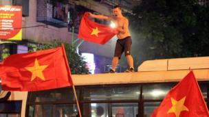 Vietnam, Hanoi, sepak bola