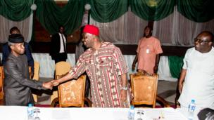 Osinbajo da shugabannin Igbo