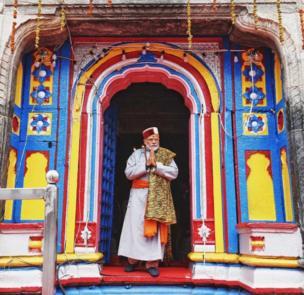 नरेंद्र मोदी, केदारनाथ मंदिर