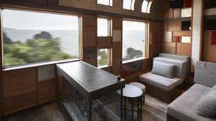 「四季島」列車內部