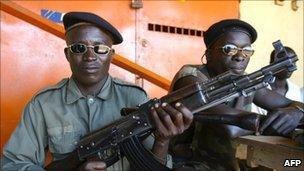 UA rebels in 2002-3 Ivory Coast civil war