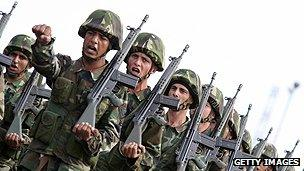 Turkish troops on Cyprus
