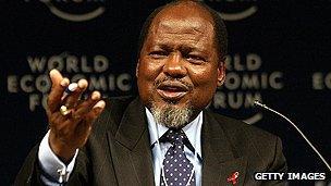 Mozambican ex-president Chissano
