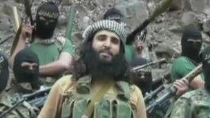 Adnan Rasheed in a Taliban video