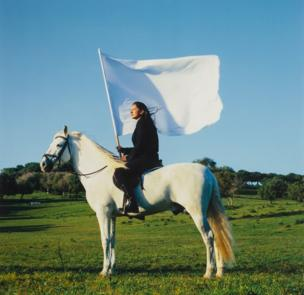 Marina Abramović, The Hero, 2001, National Museum of Women in the Arts, Gift of Heather and Tony Podesta Collection, Washington, D.C.