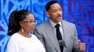 Oprah Winfrey y Will Smith inauguran el museo