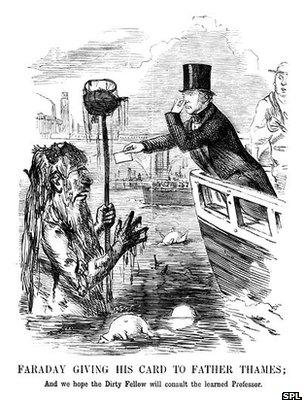 Faraday and Father Thames