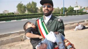 ثمة طفل واحد على الأقل من بين المصابين المدنيين في الهجوم