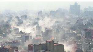 Vista panorámica de Ciudad de México