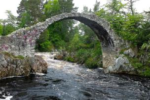 in_pictures Carrbridge in Scotland