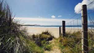 Whitesands Beach, St Davids, Pembrokeshire