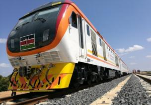 The $3.2bn (£2.5bn) Chinese-funded railway is the country's biggest infrastructure project since independence. It was also built by a Chinese company and many of the drivers and engineers will be Chinese to start with, while Kenyans are being trained to take over.
