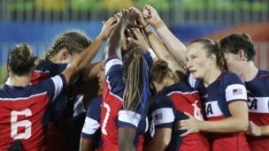 Американская женская команда по регби на Олимпиаде-2016 в Рио