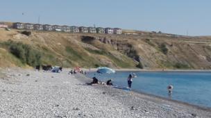 Van sahilden görünüm