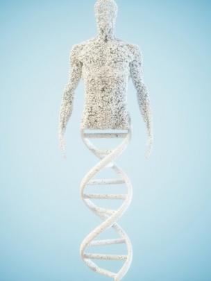 Ilustración mutación científica