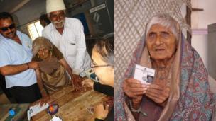 અજીબા લોકશાહીનું અજવાળું : ગુજરાતમાં સૌથી વયોવૃદ્ધ મતદાર 115 વર્ષનાં અજિબેન ચંદ્રવડીયાએ પણ મતદાન કરી લોકશાહીને અજવાળી હતી