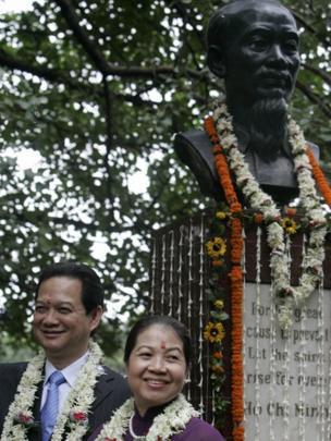 Thủ tướng Việt Nam Nguyễn Tấn Dũng và phu nhân thăm Kolkata, Ấn Độ năm 2007