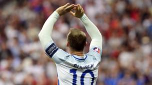 LOW - Despite Rooney scoring the opening goal, England lose 2-1 to Iceland in the knockout stages to bow out of Euro 2016.