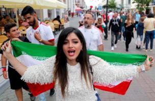 ईरान की समर्थक