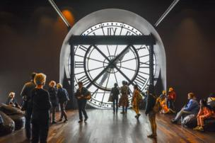 The Musée d'Orsay clock