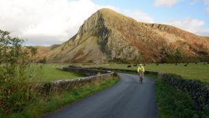The road to Bird Rock, Gwynedd, captured by Bruce Falcon