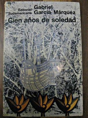 """Primera edición de """"Cien años de soledad""""."""