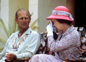 महारानी और प्रिंस फ़िलिप