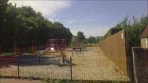 Lauder play area