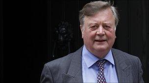 Justice Secretary Ken Clarke