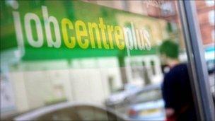 Job centre exterior