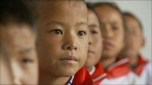 Children at the Tibet Shanghai Experimental School