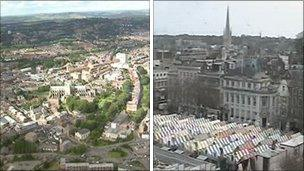 Exeter and Norwich