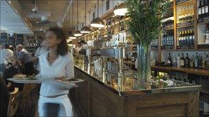 All Bar One, Canary Wharf