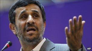 Mahmoud Ahmadinejad (file)