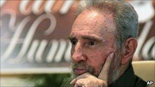 Fidel Castro in Havana, Cuba, in July 2010