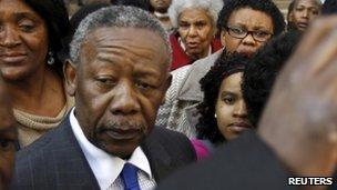 Jackie Selebi leaves court on 2 August 2010