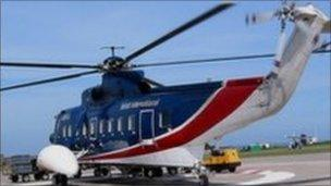 British International Helicopters: Isles of Scilly helicopter